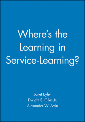 Where is the Learning in Service Learning?