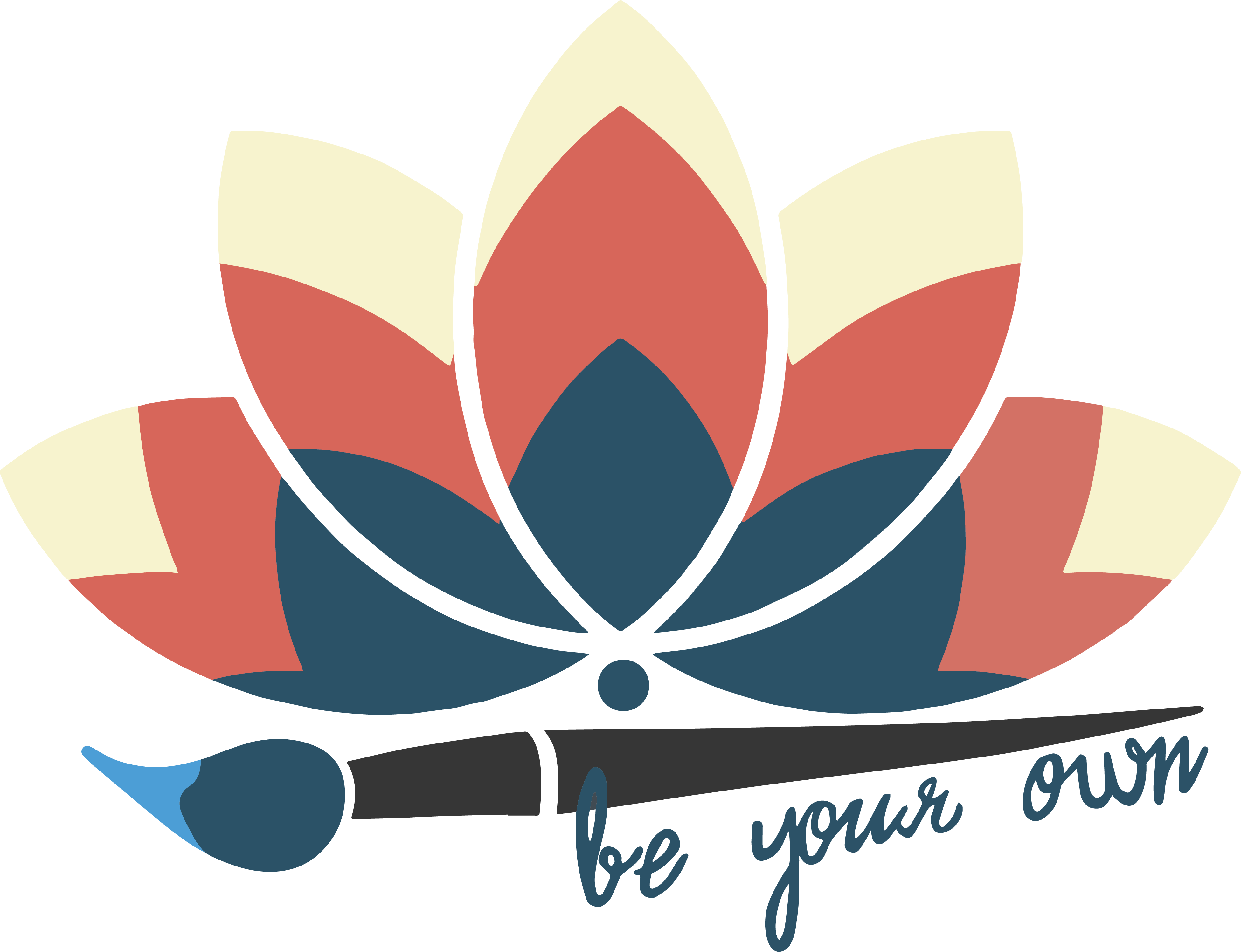 Be Your Own Artivism Lotus Logo