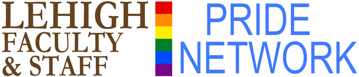 Logo for the Lehigh Faculty & Staff Pride Network