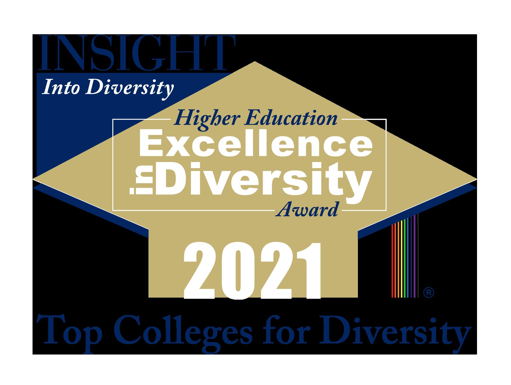 INSIGHT Into Diversity HEED Award Logo 2021