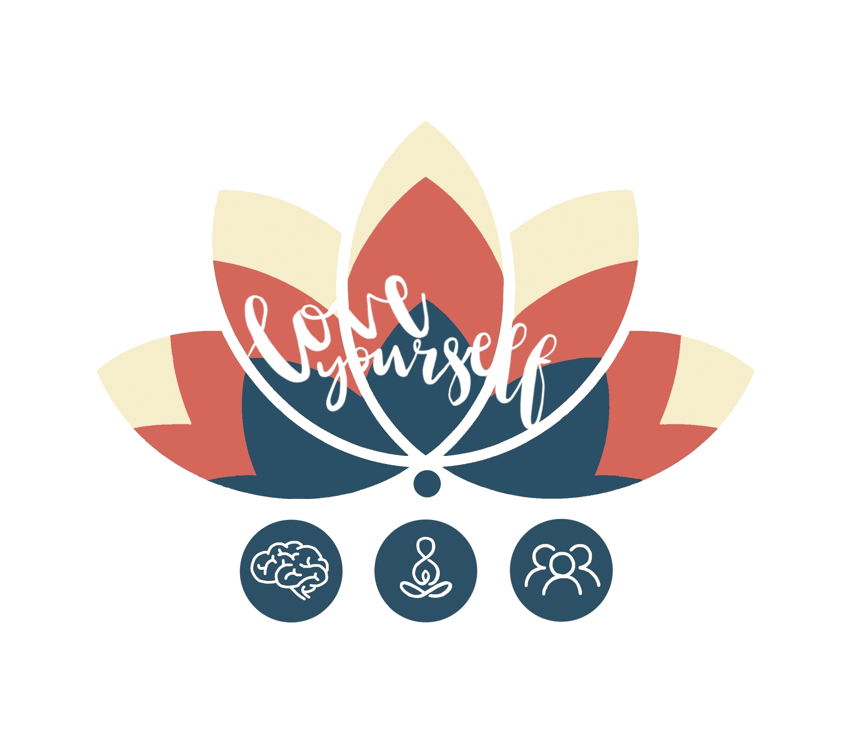 Love Yourself Lotus Logo