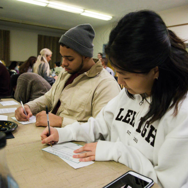 Attendees of the MLK Jr. Day Celebration reflect on what they've heard