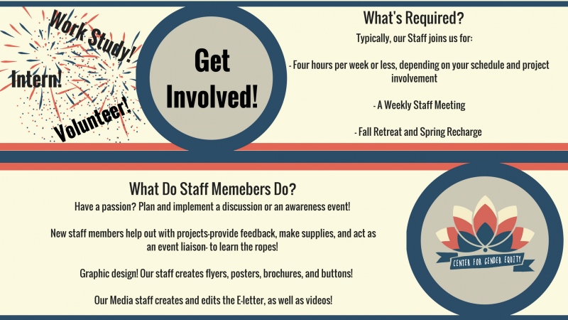Get Involved with the Center! Contact incge@lehigh.edu for more information!