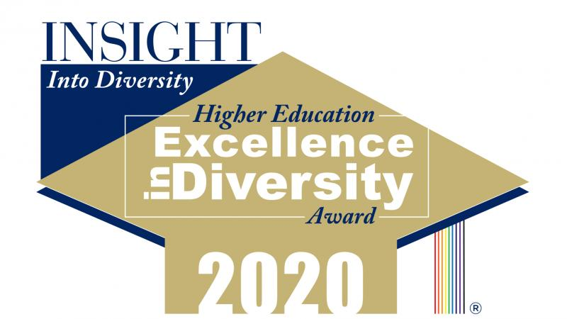 INSIGHT Into Diversity Higher Education Excellence in Diversity Award 2020