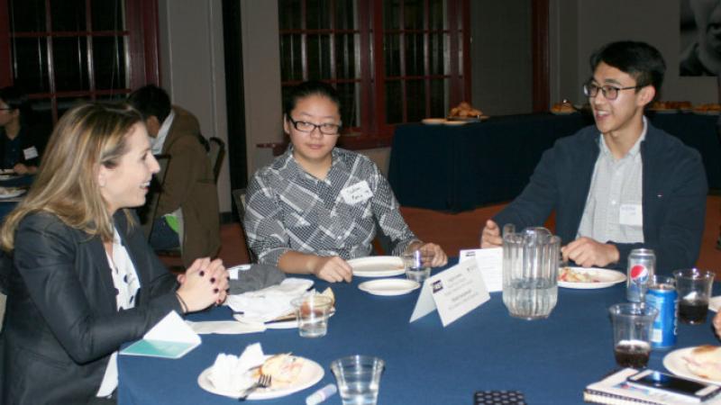 F1RST Students and Alumni Panelist